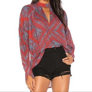 Free People Walking on a Dream Cut Out Tunic